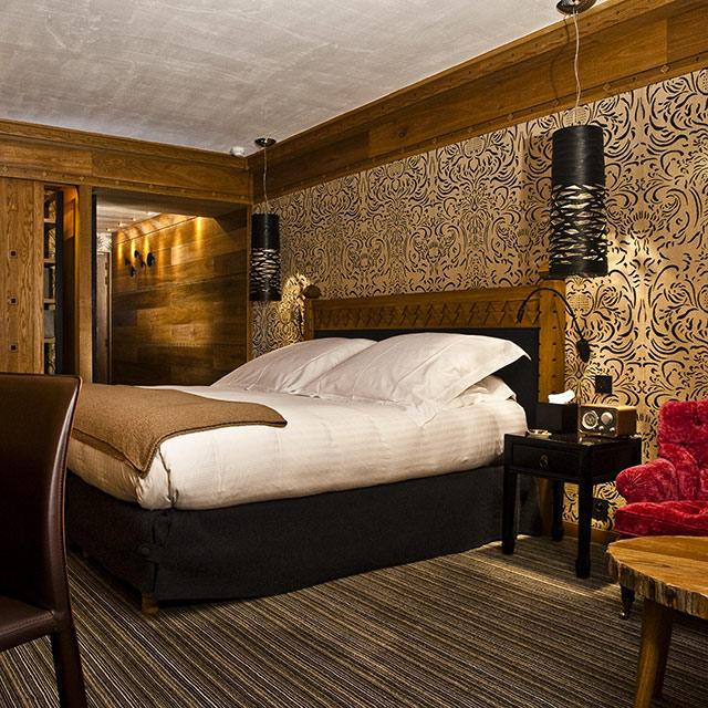 Chambre Hotel Montagne : Le blizzard hôtel val d isère séjour savoieterres de