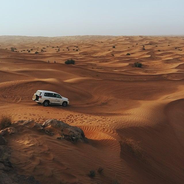 Découverte Désert en 4x4 - Voyage Dubaï