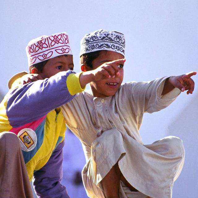 Rencontre avec les Omanais - Voyage Oman