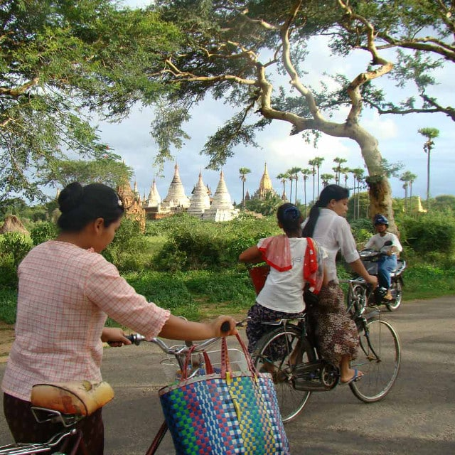 Bagan Vélos - Voyage Birmanie