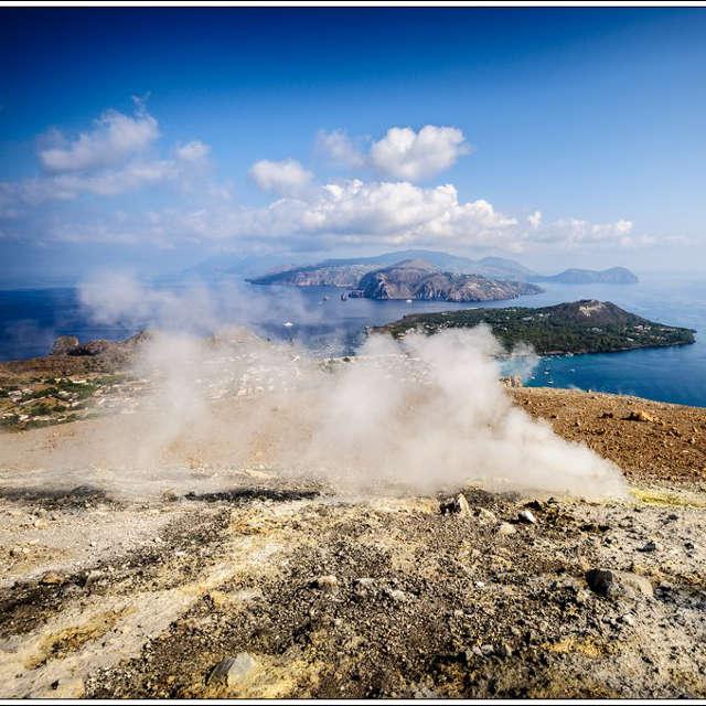 Vulcano, Sicile - îles éoliennes