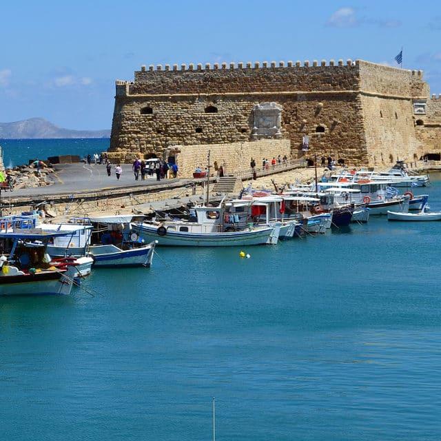 crète-port vénitien d'héraklion - voyage en crète
