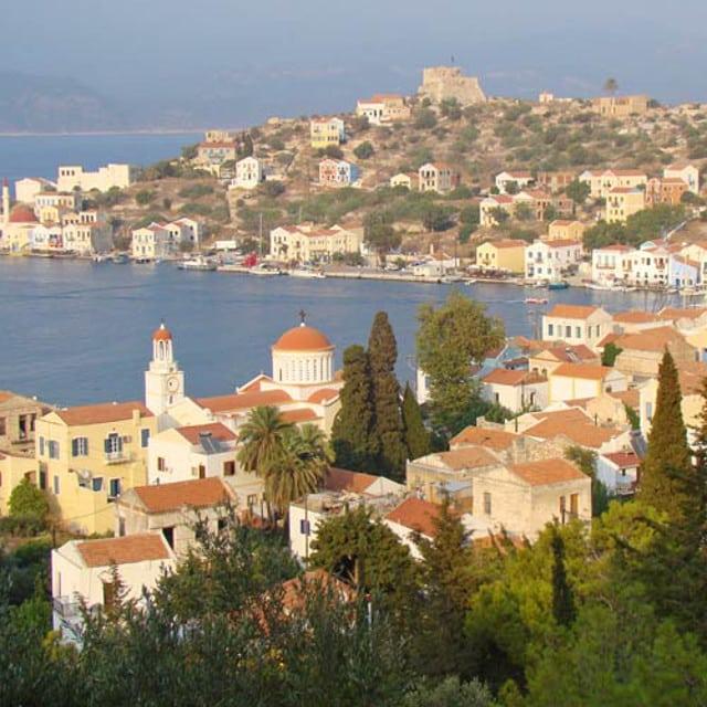 Baie - Voyage îles du Dodécanèse, Grèce