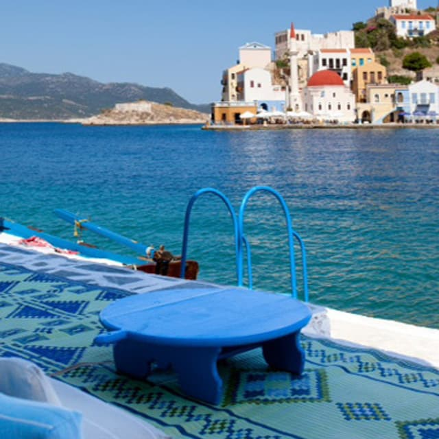 Terasse - Voyage îles du Dodécanèse, Grèce