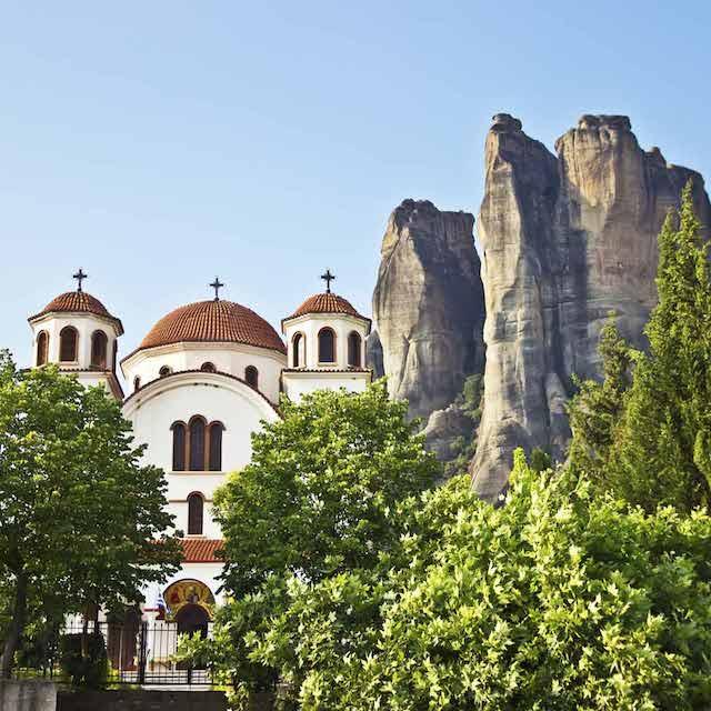 Cathédrale Kalambaka Météores - Voyage en Grèce