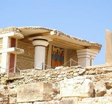 Palais Knossos - Voyage en Crète