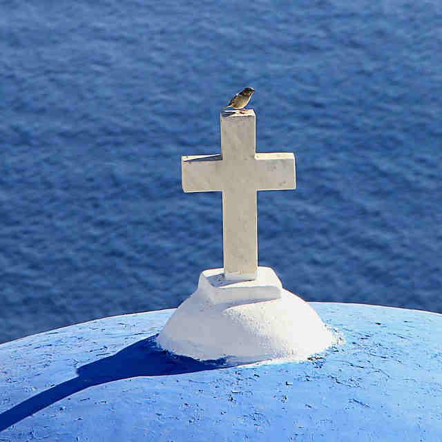 santorin-grece-croix
